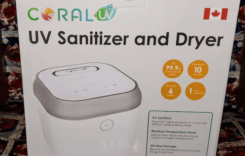 The BEST Sanitizer and Dryer for MORE than Bottles!