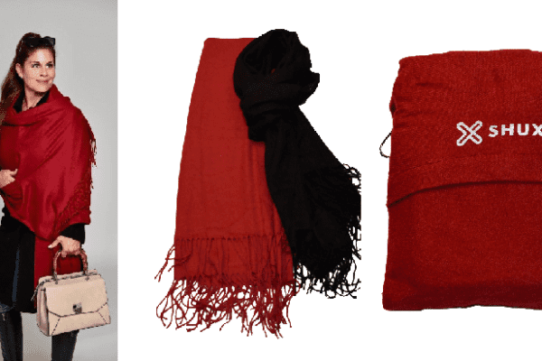 Dress up with a Shux Shawl Wrap!
