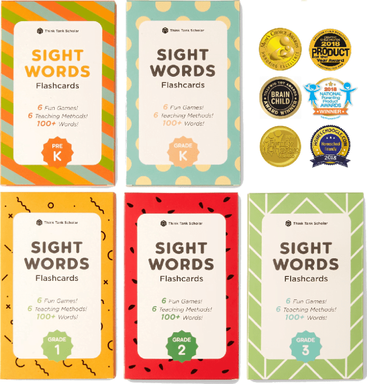 NEW Flashcards for Kids by Think Tank Scholar