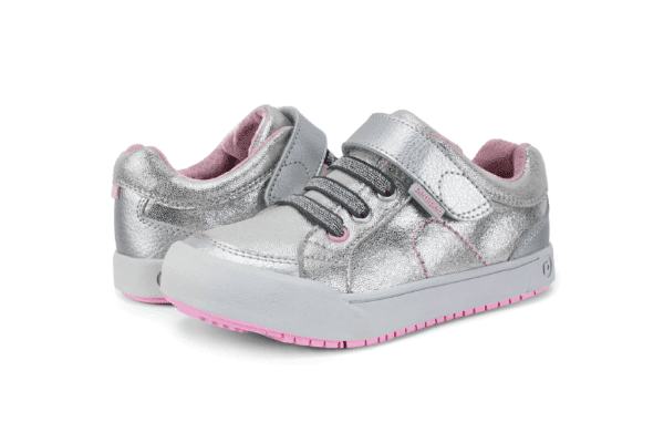 Flex DANI Silver Shimmer Stylish Shoes