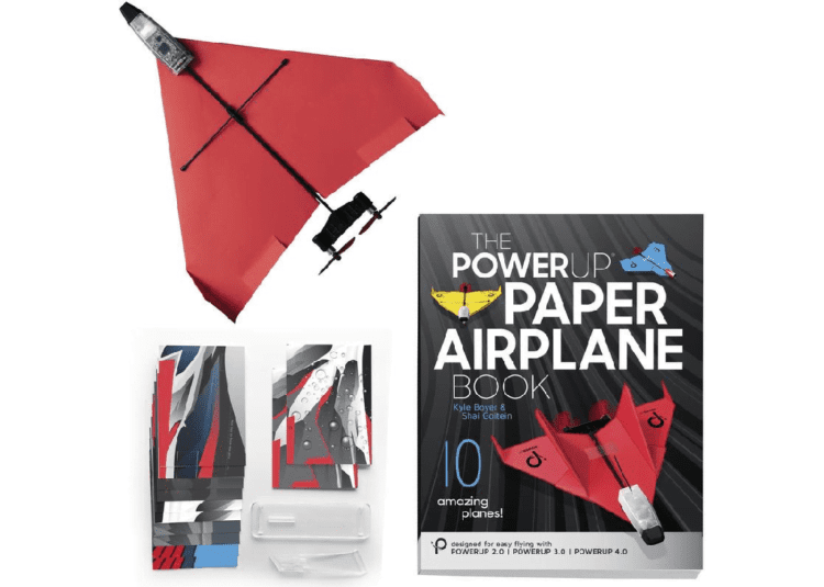 Smartphone Controlled Paper Airplanes
