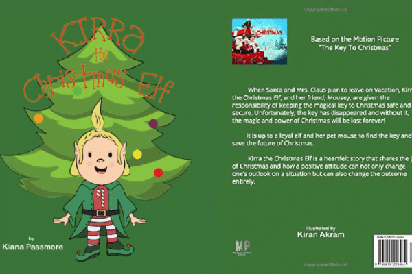 Kirra The Christmas Elf Book