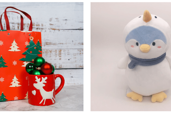 Give a child a new Christmas Stuffed Animal to Love