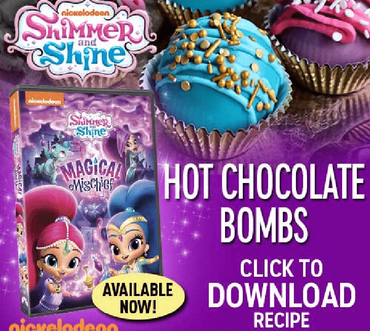 Hot Chocolate Bombs Recipe Shimmer and Shine